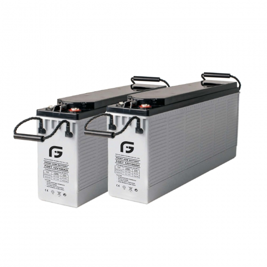 12v105ah front terminal battery